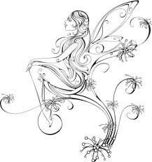 cute easy fairy drawings