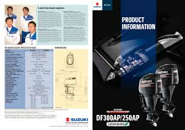df250ap df300ap suzuki marine pdf catalogues documentation
