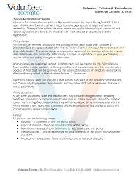 management resources volunteer toronto