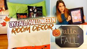 Fall And Halloween Decorating Ideas Diy Fall Halloween Room Decor 2014 Youtube