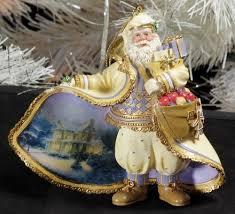 kinkade world santas collection warm cheer
