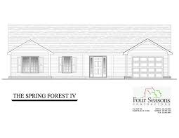 New Construction House Plans by Four Seasons Contractors New Homes For Sale Rocky Mount Nc