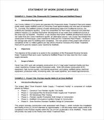 sow template sle statement of work template 13 free documents in
