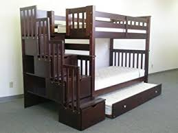 King Bunk Bed Bedz King Stairway Bunk Bed With
