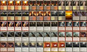 Invitational Cards Mtg Working On Decklists For The Upcoming Scg Invitational Here U0027s One