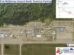 Fort Mcmurray Alberta Canada Map by The Western Canada Summer Games