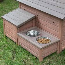 how to build an a frame cabin amazon com boomer u0026 george a frame dog house with food bowl tray