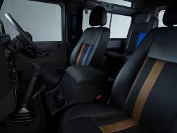 jeep defender interior paul smith designs his own land rover defender by car magazine