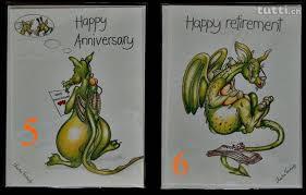 gl ckwunschkarte hochzeitstag glückwunschkarte zum hochzeitstag ruhestand mit drachen