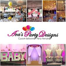 custom balloons party rentals ct ny 203 244 7844