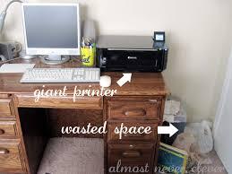 Under Desk Printer Stand With Wheels Under Desk Printer Stand Best Home Furniture Decoration