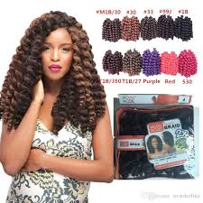 model model crochet hair wholesale wholesale 8 inch wand curl crochet hair extensions ombre
