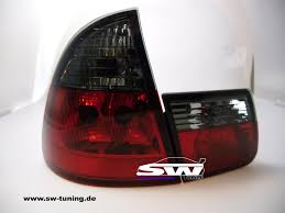 red bmw e46 taillights bmw e46 touring 10 1999 2 2005 red smoke tuning