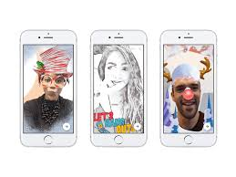 facebook messenger u0027s artsy new camera turns any text into filters