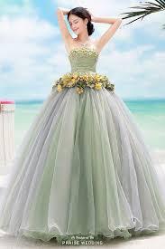 Green Wedding Dresses 702 Best Menyasszonyi Ruhák Színes Color Bridal Gown Images On