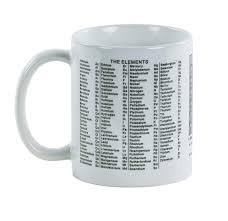 Periodic Table Coffee Table Periodic Table Of The Elements Mug Scientificsonline