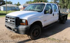 2006 Ford F350 Utility Truck - 2006 ford f350 super duty crew cab flatbed pickup truck it