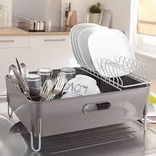 egouttoir cuisine egouttoir à vaisselle avec bac et gouttière mathon egouttoir à