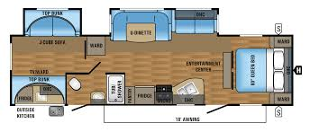 Turbo Floor Plan 2017 Jay Flight 32bhds Jayco Inc