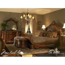 Cortina Bedroom Furniture Cortina Sleigh Bedroom Set Aico Furniture Furniture Cart