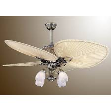 Brass Ceiling Fans With Lights by Elegant Natural Palm Leaf Ceiling Fan