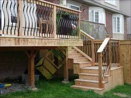 outdoor amazing building exterior stairs patio step handrail