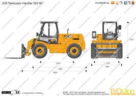 superb online blueprints 5 jcb 520 50 telescopic handler jpg
