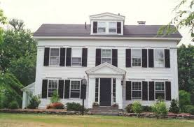 greek revival style house architectural styles in weston weston ma