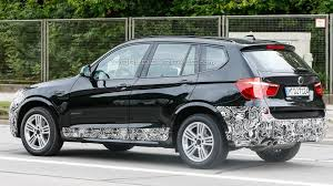 bmw rally 2014 barely disguised 2014 bmw x3 facelift spied with m sport trim