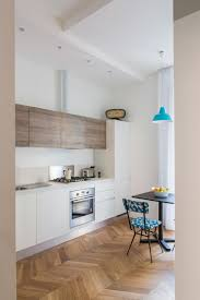 Design In Kitchen A Clean Home Done In White In Rome White Wood Kitchens