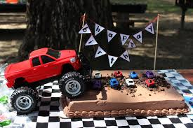 childrens monster truck videos cakes birthday cake with cars and trucks image inspiration of cake and