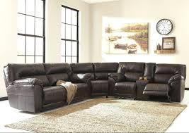 Leather Sectional Sofa Sleeper Ashley Leather Sectional Sleeper Sofa Katisha 9337 Gallery