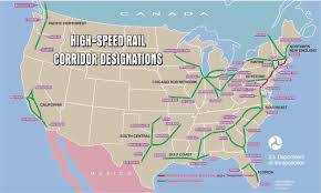 Train Map Of America by Obama Lays Down Plans For High Speed Rail Grist
