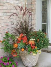 Front Porch Planter Ideas by Celebrate Fall By Redoing Pots Using Perennials And Shrubs As The