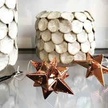 copper coloured asymmetric stars by bloomingville http www