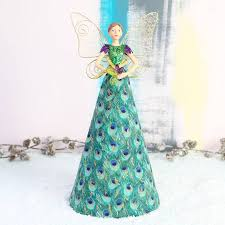 fairy christmas tree topper christmas lights decoration