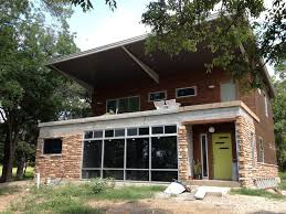this tulsa ok couple built a 2500 sq ft house from 5 shipping