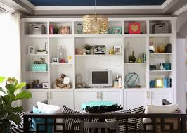 Built In Cabinets Living Room by A Kailo Chic Life Build It Ikea Besta Built In Hack