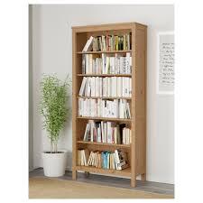 Narrow Black Bookcase Backyards Hemnes Bookcase Black Brown 0394579 Pe561402 S5