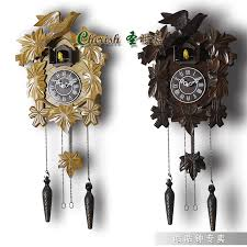 Blue Cuckoo Clock Aliexpress Com Buy Fashion Wooden Children Wall Cuckoo Clock
