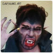 Werewolf Halloween Makeup by Maquiagem De Lobisomem Werewolf Makeup Youtube