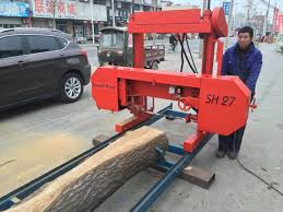 portable bandsaw sawmill 27 timber bandsaw manual log bandsaw with