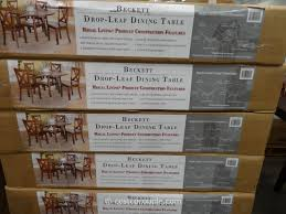 Dining Room Sets Costco - regal living beckett drop leaf dining table