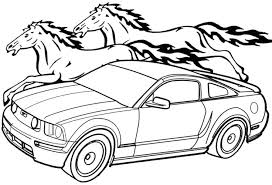 free coloring pages of mustang cars mustang car coloring pages nyaon info