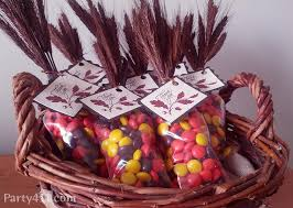 thanksgiving indian corn dessert favors daily dish