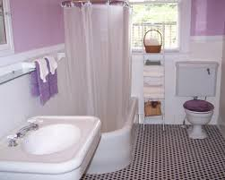 Small Bathroom Accessories Simple 10 Purple And Gray Bathroom Accessories Decorating Design