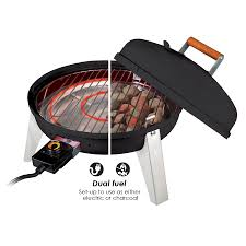 Outdoor Electric Grill Shop Americana 1500 Watt Electric Grill At Lowes Com