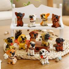 ceramic dog ring holder images 3d resin cute dog key chain for lovers animal keyring key ring jpg