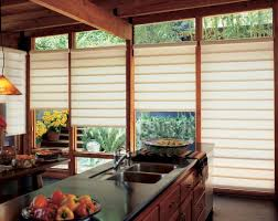 decorating blinds and shades darkbrown bamboo modern window
