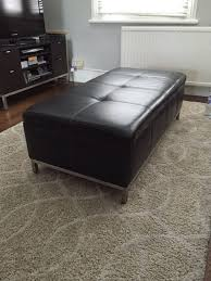 Ottoman With Storage Best 25 Leather Ottoman With Storage Ideas On Pinterest Grey